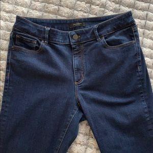 EUC Ann Taylor skinny jeans, curvy fit